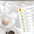 A weekly cleaning schedule that keeps your house always clean