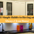 11 Simple Habits to Having an Always Clean House