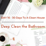 Day 16 – 30 Day House Cleaning Challenge: Deep Clean Bathrooms