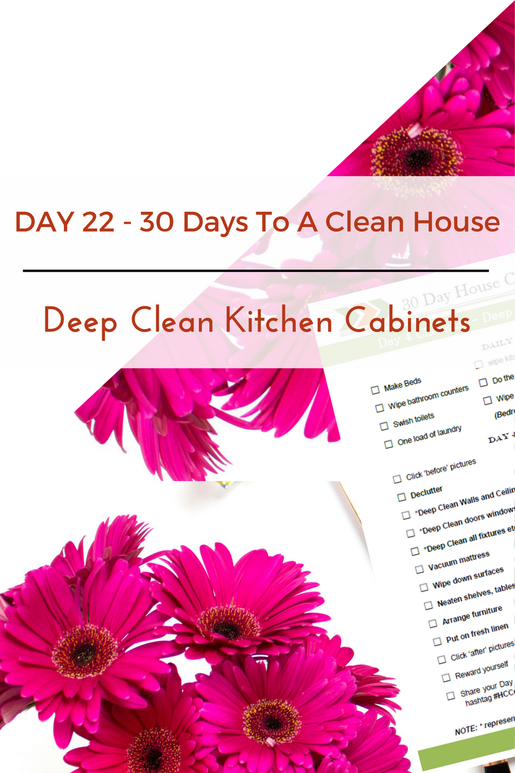 Good Day 22 U2013 30 Day House Cleaning Challenge: Deep Clean Kitchen Cabinets