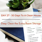 Day 27 – 30 Day House Cleaning Challenge: Deep Clean the Extra-Room Storage Units